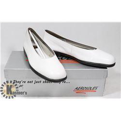 AEROSOLES WHITE SZ 6.5