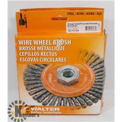 2 NEW WALTER WIRE WHEEL BRUSH # 13-K 604