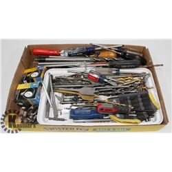 FLAT ESTATE DRILL BITS, SCREWDRIVERS AND MORE