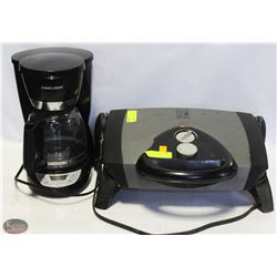 GEORGE FOREMAN COUNTERTOP GRILL PRESS &