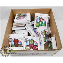 BOX OF ASSORTED FIDGET SPINNERS