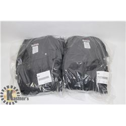 2 PAIRS OF 44R FLAME RESISTANT COVERALLS.