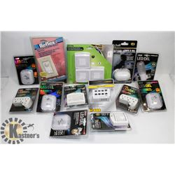 FLAT OF ELECTRICAL ACCESSORIES