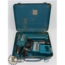 MAKITA DRILL 3 PC SET DRILL, BATTERY