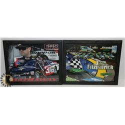 SET OF 2 SIGNED SPONSORS RACING