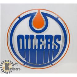 "18"" OILER METAL ART."