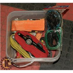 ASSORTED TIE STRAPS AND MORE