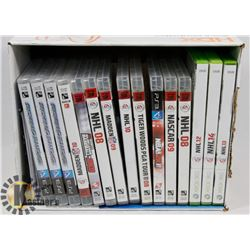 PS3 XBOX SPORTS GAMES