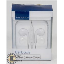 NEW INSIGNIA EARBUDS FOR IPHONE IPAD