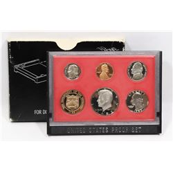 1982 UNITED STATES 6 COIN PROOF SET.