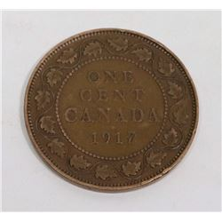 1917 CANADIAN LARGE PENNY