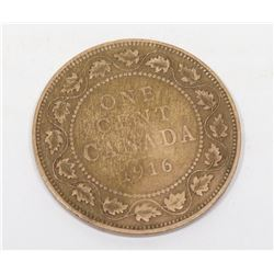 1916 CANADIAN LARGE PENNY