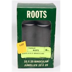 ROOTS 10 X 25  BINOCULARS