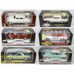 FEATURED DIE CAST CARS