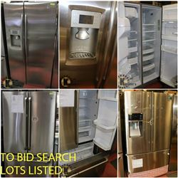 FEATURED STAINLESS STEEL FRIDGES