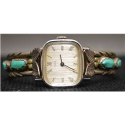 ZUNI  INDIAN WATCH BRACELET (ANGIE)