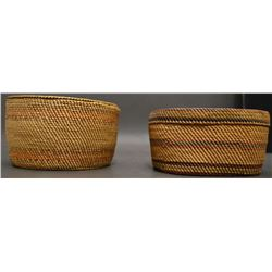 MAKAH /NOOTKA INDIAN BASKETS