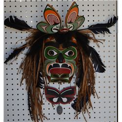 NORTH WEST COAST INDIAN MASK (Barry Scow Hilamas)