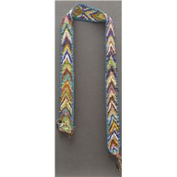 WOODLANDS INDIAN LOOM BEADED BELT