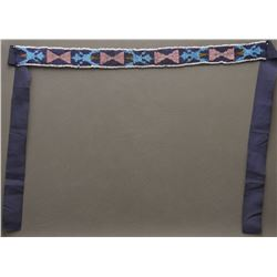 PLAINS INDIAN BEADED STRIP
