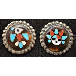 ZUNI INDIAN EARRINGS