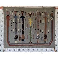 NAVAJO INDIAN TEXTILE (DAISY BARTON)