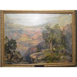WESTERN PRINT OF THE GRAND CANYON (THOMAS MORAN)