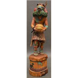 HOPI INDIAN KACHINA ( WOODY SEWEMAENEWA)