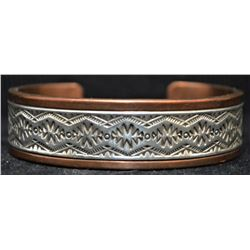 NAVAJO INDIAN BRACELET (RANDY SECATERO)