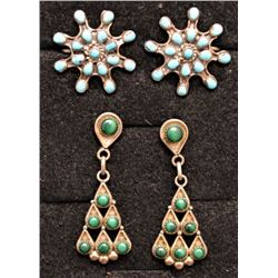 NAVAJO INDIAN EARRINGS