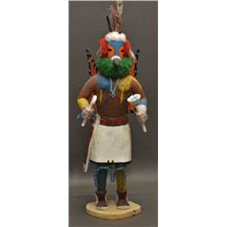 HOPI INDIAN KACHINA (NAMOKI)