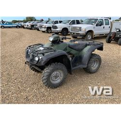 2005 HONDA 500 ATV