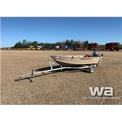 2013 POLAR KRAFT 1470L FISHING BOAT