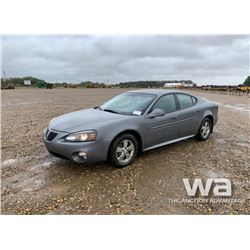 2007 PONTIAC GRAND PRIX 4-DOOR CAR