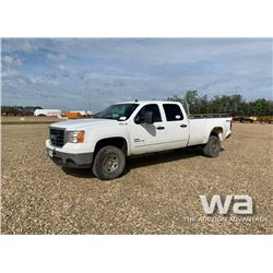 2010 GMC 3500HD CREWCAB PICKUP
