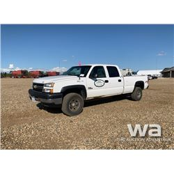 2006 CHEVROLET 3500 CREWCAB PICKUP