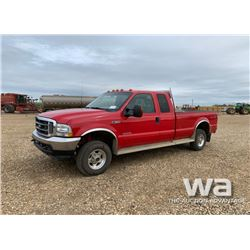 2003 FORD F350 E-CAB PICKUP