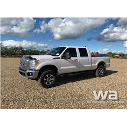 2011 FORD F350 CREW CAB PICKUP