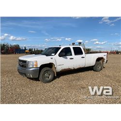 2008 CHEVROLET 2500HD CREW CAB PICKUP