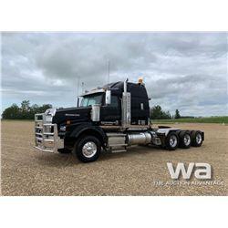 2013 WESTERN STAR 4900SB TRI-DRIVE TRUCK