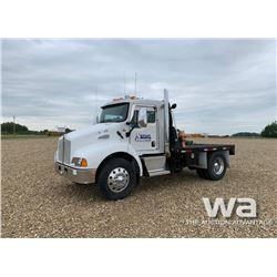 2008 KENWORTH T300 S/A DAY CAB TRUCK
