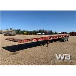 2002 SCONA 40 TON TRIDEM OILFIELD FLOAT TRAILER