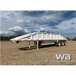 1998 DECAP TRIDEM CLAM DUMP GRAVEL TRAILER