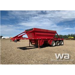 1994 ARNES TRIDEM CROSS DUMP GRAVEL TRAILER