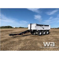 2011 RENN SL1700 17 FT. TRIDEM GRAVEL PUP TRAILER