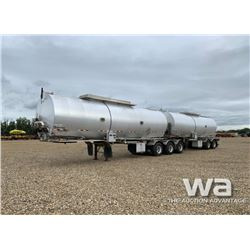 2015 POLAR SUPER B-TRAIN TANK TRAILER