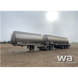 2003 LAZER INOX SUPER-B TRAIN TANK TRAILER