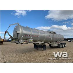 2014 DRAGON TRIDEM TANK TRAILER