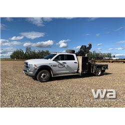 2013 DODGE 5500HD 4X4 CREWCAB BOOM TRUCK