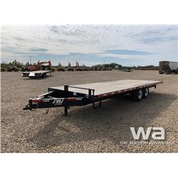 2016 SWS T/A DECK OVER TRAILER